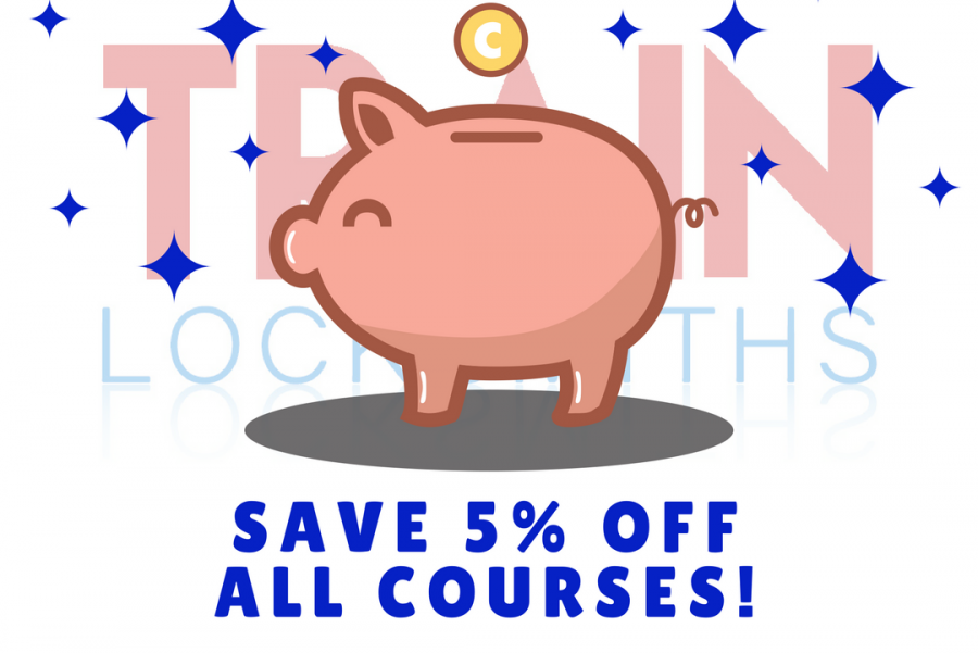 SAVE 5% ON ALL COURSES!